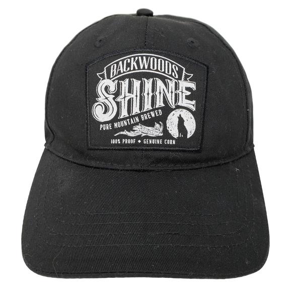 5eadf035fb4 Backwoods Shine Other - Backwoods Shine Moonshine Baseball Hat Cap Black